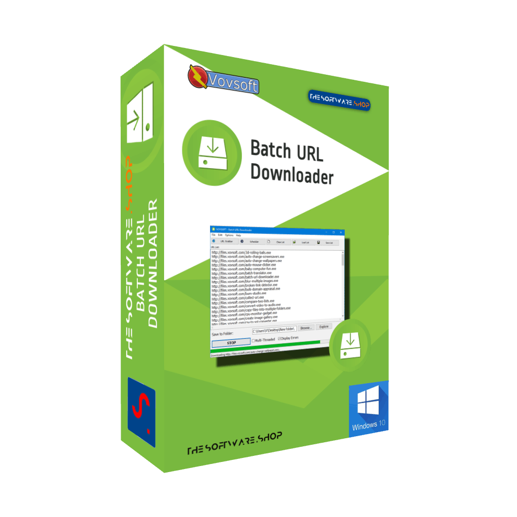 Batch URL Downloader Review Download Discount Coupon