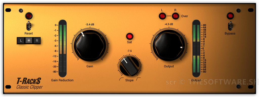 T-Racks Classic Clipper Interface